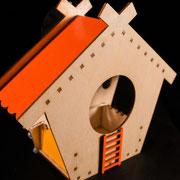 Оконная кормушка для птиц - Теремок оконный