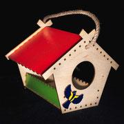 Кормушка - Теремок синяя птица