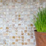 Mosaico 2x2 cm Madreperla Nuvola