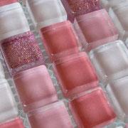 Mosaico Glitter Rosa