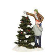 603067-Ann and Hen building christmastree