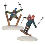 609113-Ski jumpers