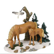 600067-Horse and foal scenery