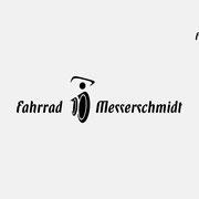 Logo Fahrrad Messerschmidt, Schwarzversion, Skalierung – infragrau, gute Gestaltung