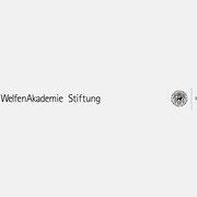 Logo WelfenAkademie, Schwarzversion, Skalierung – infragrau, gute Gestaltung