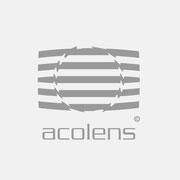 Logo Acolens, Grauversion – infragrau, gute Gestaltung