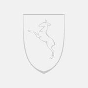 Logo Gemeinde Rechberghausen, Grauversion – infragrau, gute Gestaltung