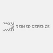 Logo REIMER DEFENCE, Grauversion – infragrau, gute Gestaltung