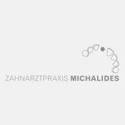 Logo Zahnarztpraxis Michalides, Grauversion – vormals für nullplus, Labor für Gestaltung
