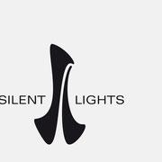 Logo Silent Lights I, Schwarzversion, Skalierung – infragrau, gute Gestaltung