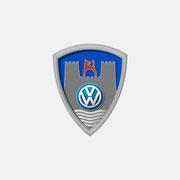 Logo VW CLASSIC, 3D-Version – infragrau, gute Gestaltung für Vierke Fashion For Brands