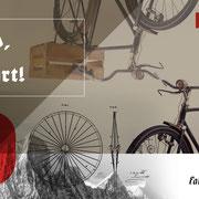 Logo Fahrrad Messerschmidt, Anwendung à la DADA – infragrau, gute Gestaltung