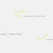 Logo Life Balance, Farbversionen in Bewegung – infragrau, gute Gestaltung
