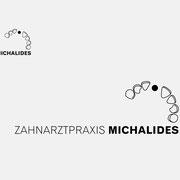 Logo Zahnarztpraxis Michalides, Schwarzversion, Skalierung – vormals für nullplus, Labor für Gestaltung