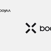 Logo Relaunch booyaa, Schwarzversion, Skalierung – infragrau, gute Gestaltung