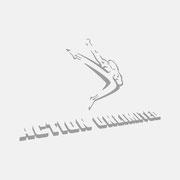 Logo Action Unlimited, Grauversion – infragrau, gute Gestaltung