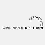 Logo Zahnarztpraxis Michalides, Farbversion, anthrazit – vormals für nullplus, Labor für Gestaltung