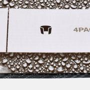 Logo 4PACK, Anwendung – infragrau, gute Gestaltung