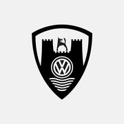 Logo VW CLASSIC, Schwarzversion, Skalierung – infragrau, gute Gestaltung für Vierke Fashion For Brands