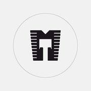 Logo mototoddlers, Schwarzversion mit Ring – infragrau, gute Gestaltung