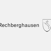 Logo Gemeinde Rechberghausen, Wort/Bildmarke – infragrau, gute Gestaltung