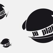 Logo JB plays, Schwarzversion, Skalierung – infragrau, gute Gestaltung