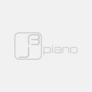 Logo jb piano, Grauversion – infragrau, gute Gestaltung