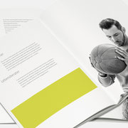Logo Life Balance, Anwendung – infragrau, gute Gestaltung