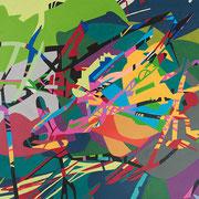 2629, 140x80cm, acryl on canvas, banck 2016