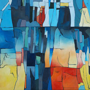 Mircoma 1, 220x185cm, oil on canvas, banck 2008 #