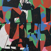 5212, 70x90cm, acryl on canvas, banck 2014 #