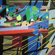 0426, 160x140cm, acryl on canvas, banck 2014