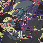 2505, 140x90cm, acryl on canvas, banck 2014