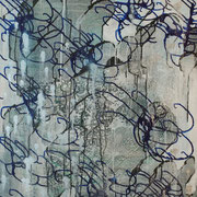 Isaak 10, 70x90cm, acryl on canvas, banck 2009