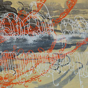 Isaak 4, 160x90cm, acryl on canvas, banck 2009 #