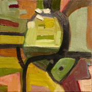 come inside 1, 40x40cm, oil on canvas, banck 2007 #