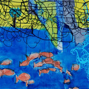 Isaak 21, 200x120cm, acryl on canvas, banck 2009 #