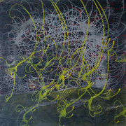 Isaak 11, 90x90cm, acryl on canvas, banck 2009
