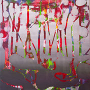 kleiner Wald 3, 35x40cm, acryl on canvas, Banck 2017
