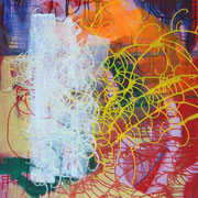 Isaak 13, 80x100cm, acryl on canvas, banck 2009 #