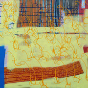 Isaak 1, 185x130cm, acryl on canvas, banck 2009
