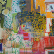 Isaak 8, 180x140cm, acryl on canvas, banck 2009 #