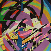 0428, 140x70cm, acryl on canvas, banck 2014