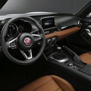 Fiat Spider Innenraum