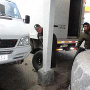 Coihaique changer 4 pneux