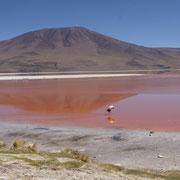 Die buten Lagune ändert je nach Sonnenstad die Farbe