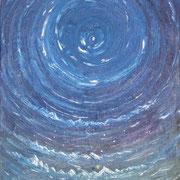 Himmelskreise, Oel auf Leinwand, 1985