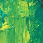 Smaragdsee, Gouachefarben auf Papier, 2005