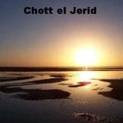Lago de Chott el Jerid