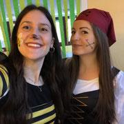 Mari und Anna vom Kindergarten